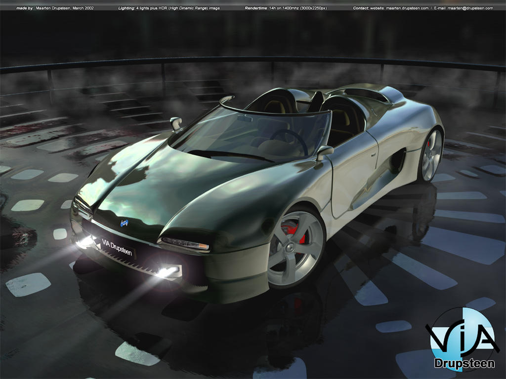 Concept car 2002 by dreamscapes