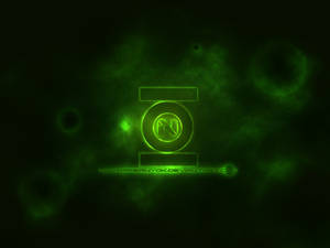 Green Lantern Inspired Wall
