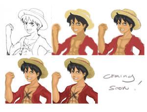 Pirate King Luffy (WIP)