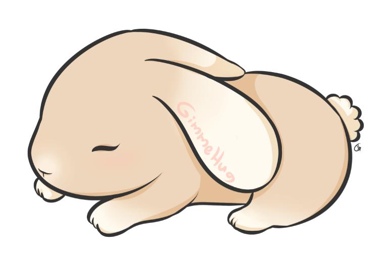 : Cute : Bunny by GimmeHug
