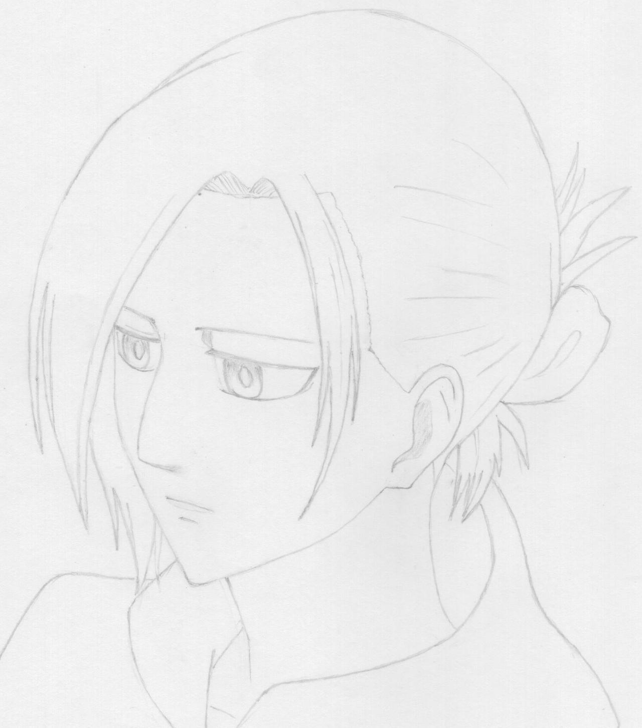 Annie Leonhart pencil sketch
