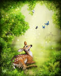 .: Spring welcoming :. by ancarie-bluewolf