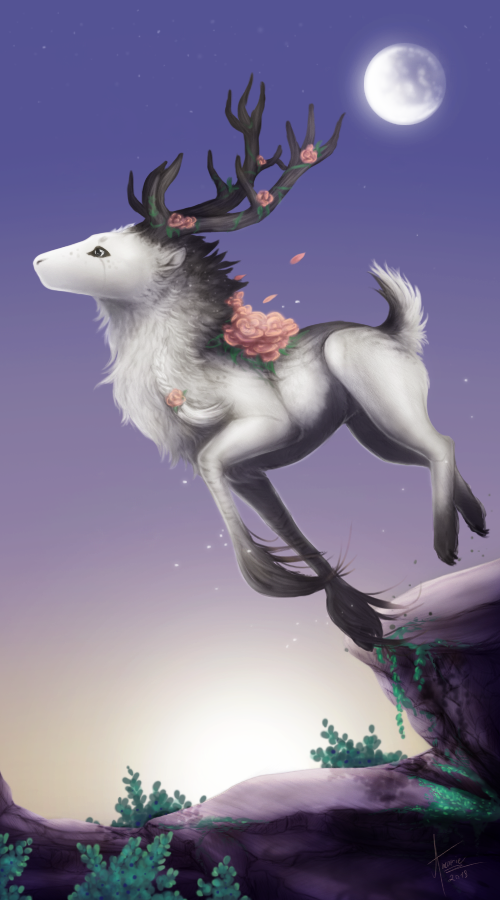 [C] .: Three lights :. by ancarie-bluewolf