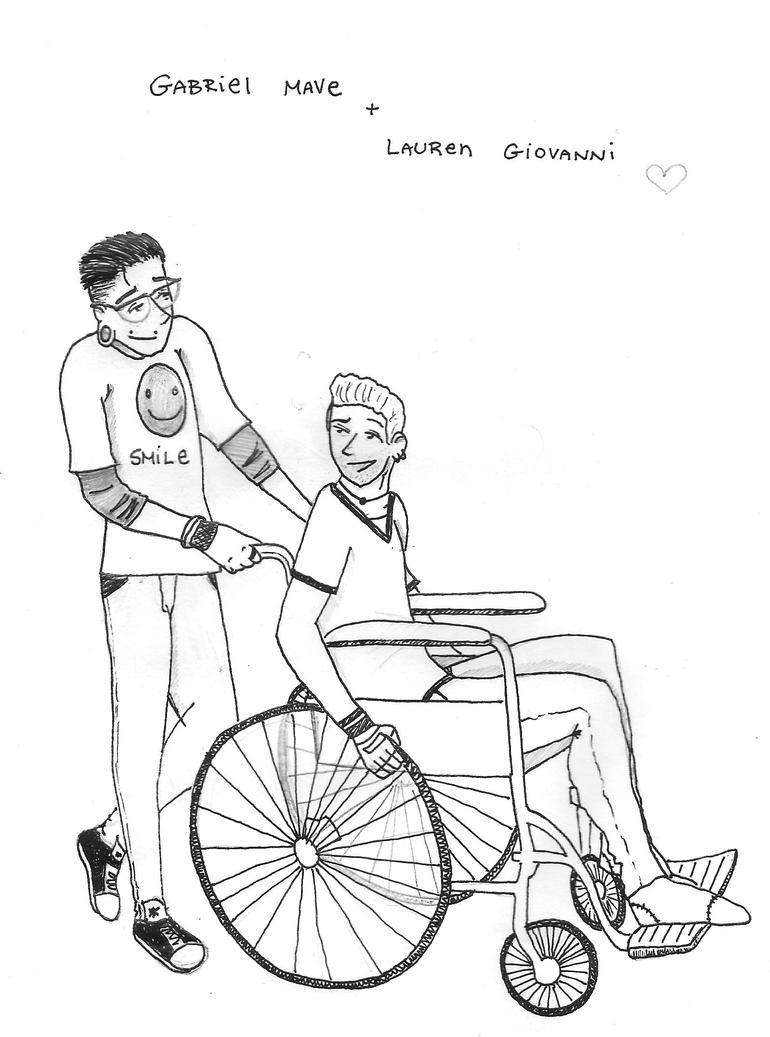 Gabriel and Lauren by Bairdsgirl11797