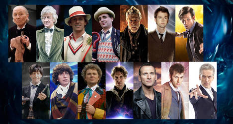 The 14 lives of the Doctor by Xisco-Lozdob