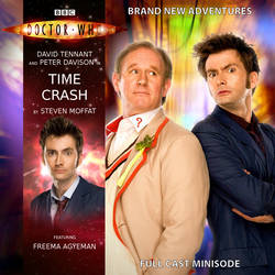 Doctor Who - Time Crash Cover (Big Finish Style) by Xisco-Lozdob