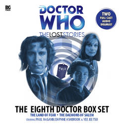 The Lost Stories - The Eighth Doctor Box Set by Xisco-Lozdob