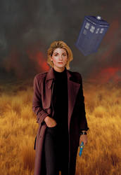 Jodie Whittaker is the 13th Doctor by Xisco-Lozdob