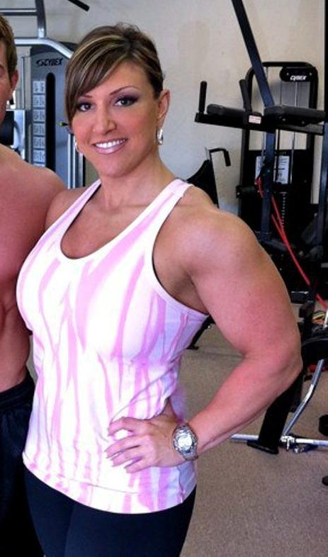 Help you? women bodybuilders clitoris sreroids visible