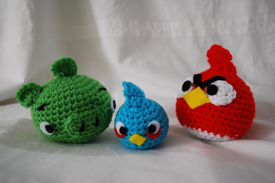 amigurumi Angry birds by hiro-chan28 on deviantART