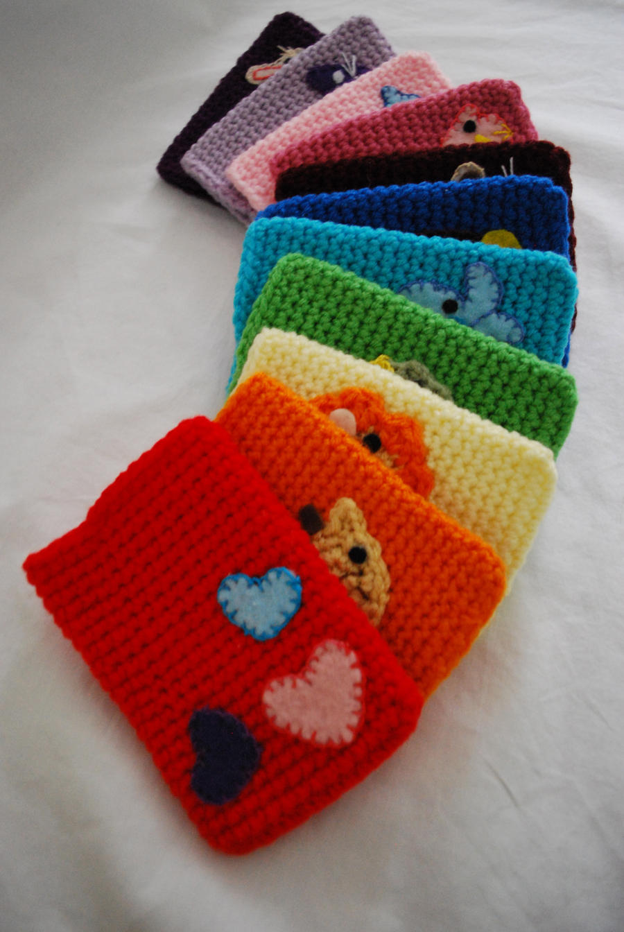 Free Crochet Pattern For I Phone Case : Crochet smart phone cases by hiro-chan28 on DeviantArt