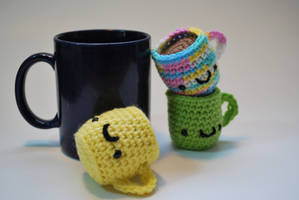 Mug keychains by hiro-chan28