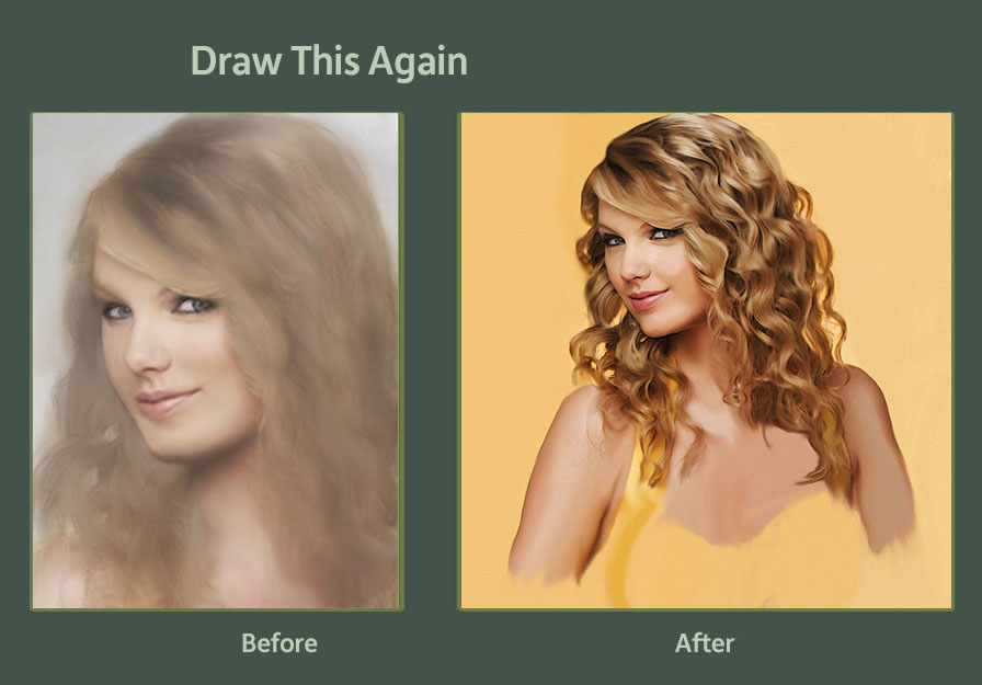 Draw This again Taylor Swift by JudgementDaysDesigns