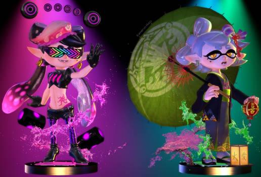 Splatoon 2] Squid Sisters Amiibo
