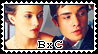Blair x Chuck stamp by Cute-and-Cuddly