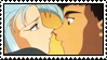 Tenchi x Ryoko stamp by Cute-and-Cuddly