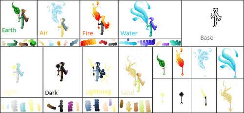 Elemental Mages