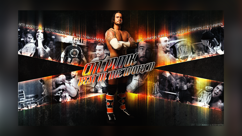 WWE WALLPAPER HALL OF PUNK! NOFLAMES BY T6511 by T1beeties
