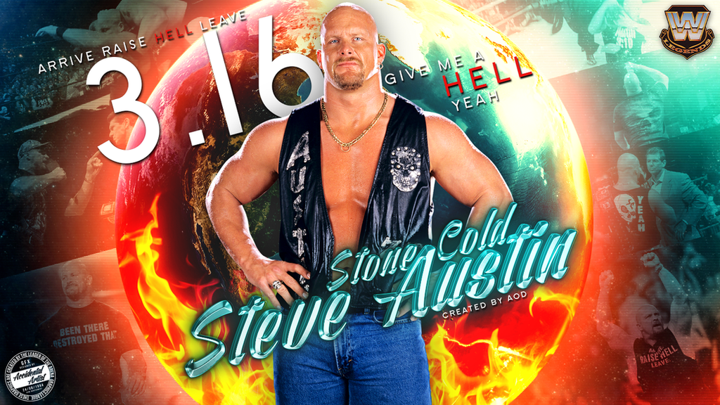 Stone Cold Steve Austin Gfx Entry Wallpaper by AccidentalArtist6511