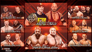 Extreme Rules 2013 Wallpaper by AA6511
