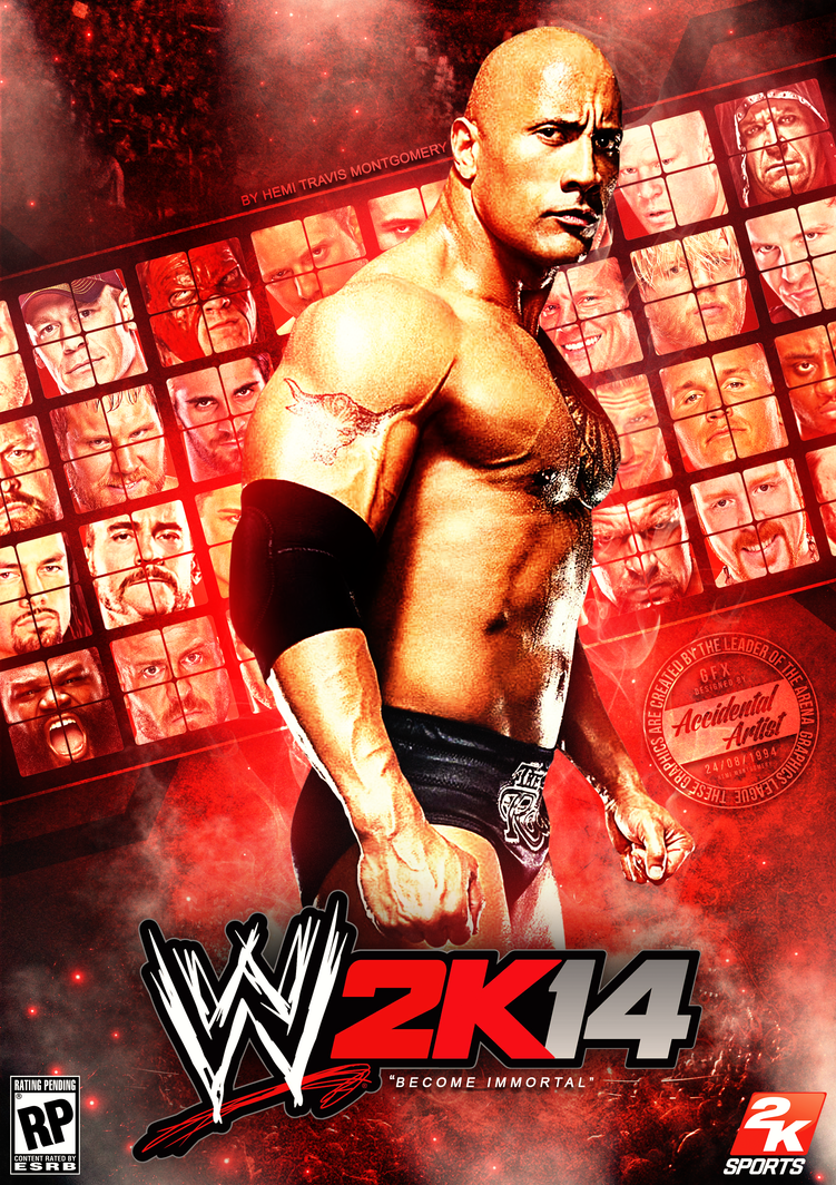 wwe 2k14 cover (v2)llliiipppsssyyy on deviantart