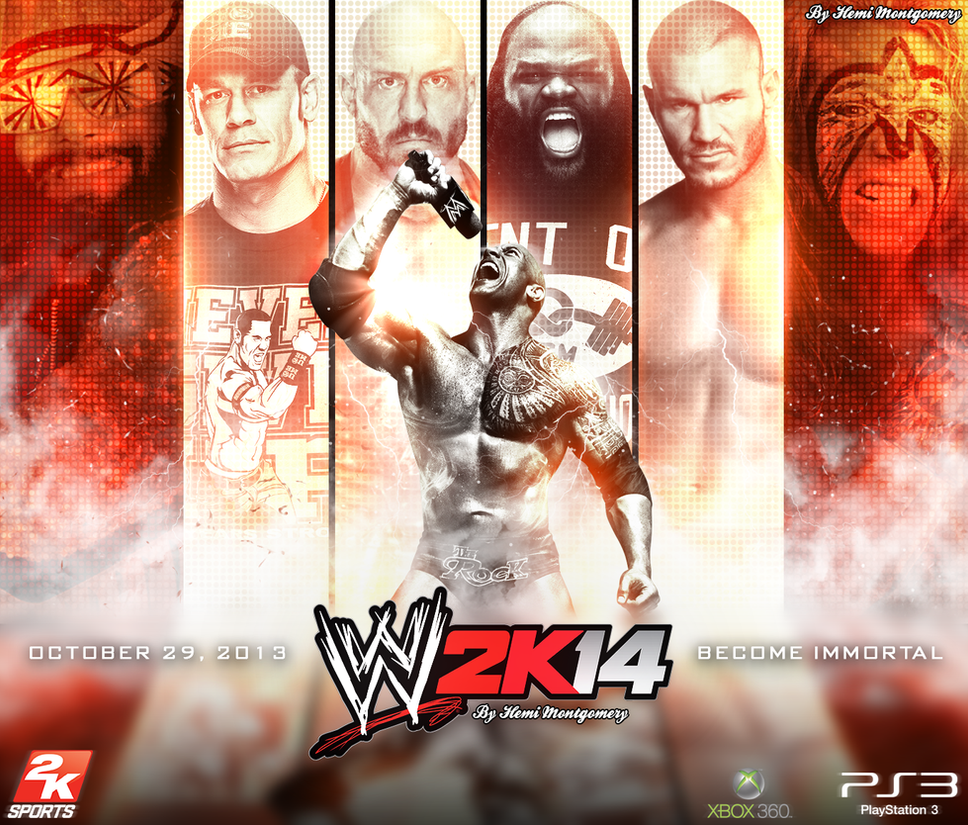 wwe 2k14 wallpaper/posterllliiipppsssyyy on deviantart