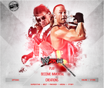WWE 2K14 CUSTOM START MENU#1