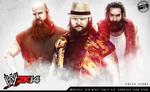 WWE 2K14 LOADING SCREEN WYAT FAMILY