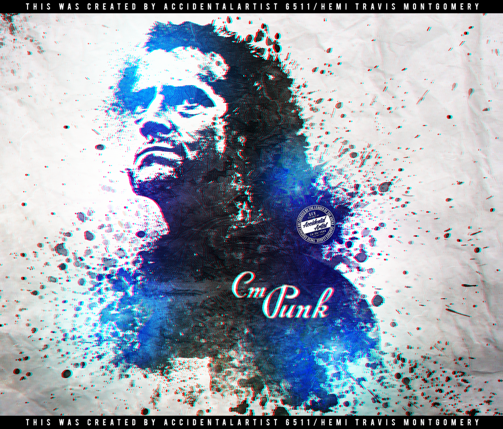 CmPunk Splatter Art#1 by AccidentalArtist6511