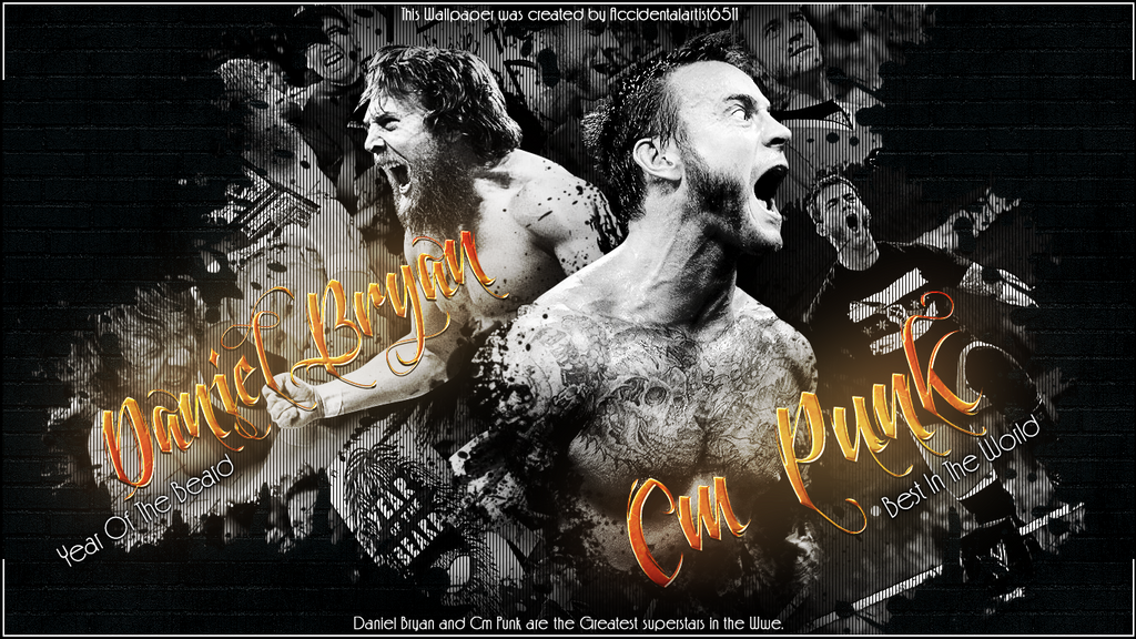 The Best In The Wwe DB and Cm Punk by T1beeties