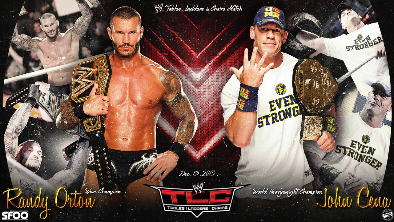 TLC Randy Orton Vs John Cena Wallpaper By Llliiipppsssyyy