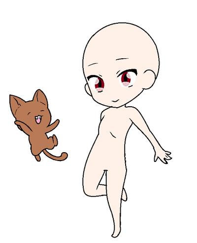 Base Anime Ash by ArtBeatSong