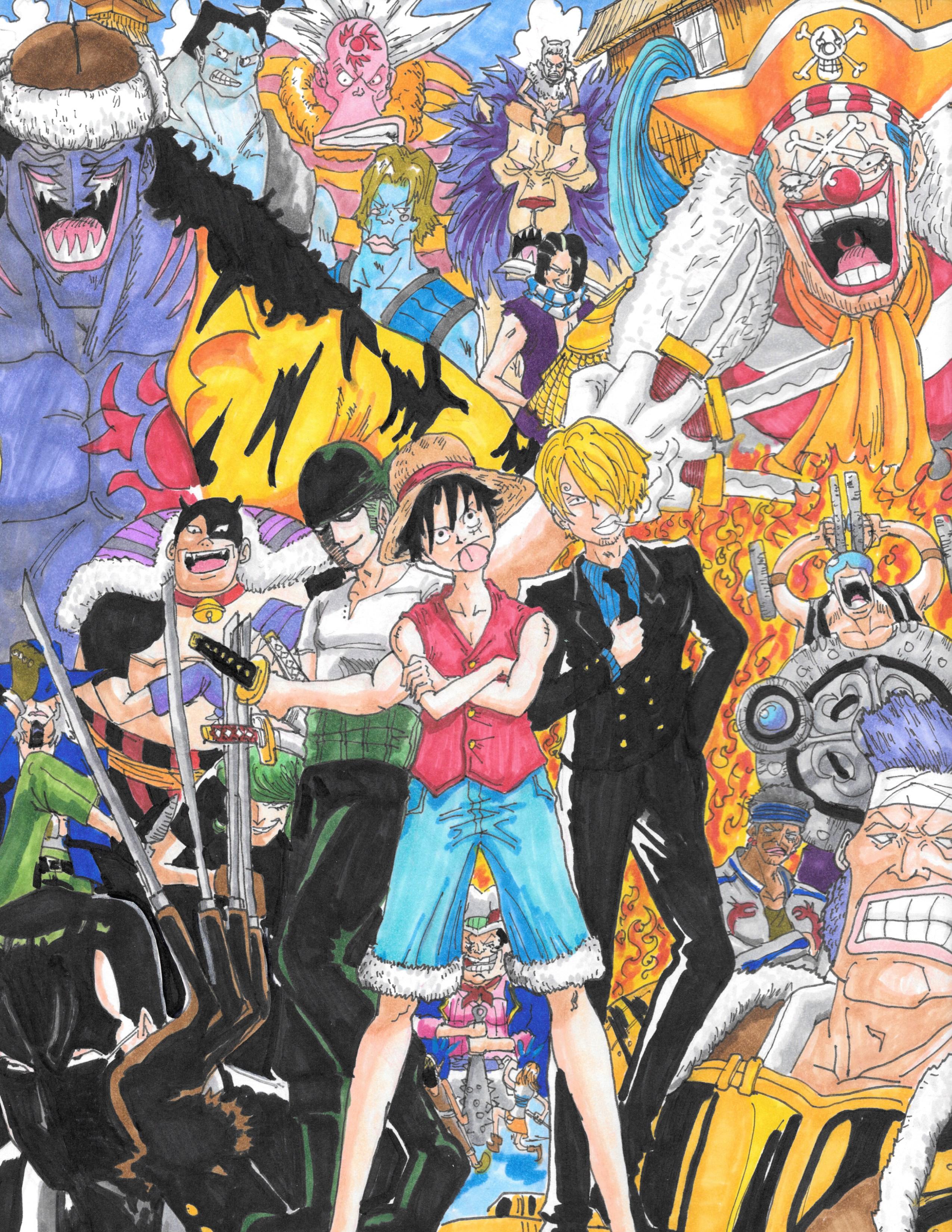 One Piece fan art by SSGJD7 on DeviantArt