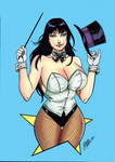 Zatanna by Daniele Torres colored