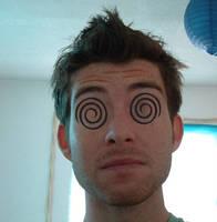 Sjoerd  with swirly eyes
