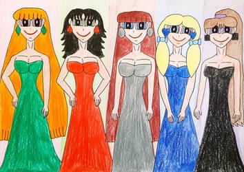 Townsville's Electrically Elegant Ladies by AntoniMatteoGarcia