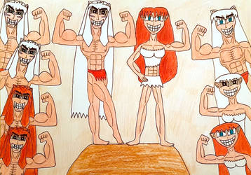 Get Ripped with Inuyasha, Ayame, and their Kids! by AntoniMatteoGarcia