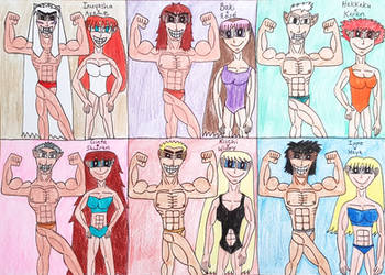 Handsome Muscle Husbands and Strong Athlete Wives by AntoniMatteoGarcia