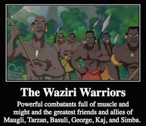 The All-Time Best Waziri Warrior Friends by Antoni-Matteo-Garcia