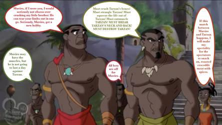 Muviro's Battle Lust for Tarzan's Blood by Antoni-Matteo-Garcia