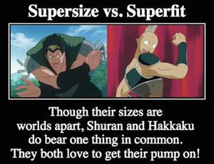 Supersize vs. Superfit