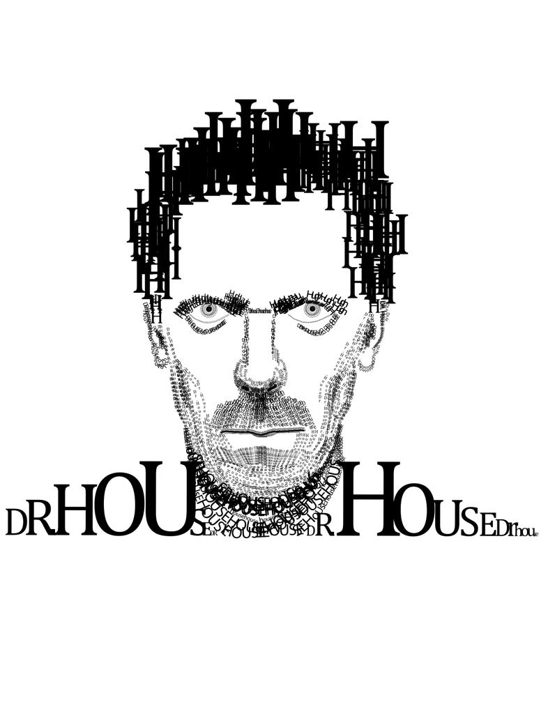 Dr. House Type Portrait by Nairamo82
