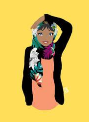 Girl with hijab by Chocotorta