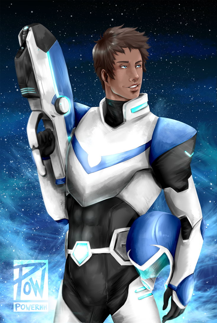 blue paladin by Powerhh