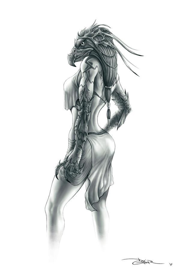 Princess Kalah's concept by garciar