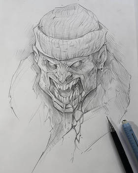 Vampire drawing