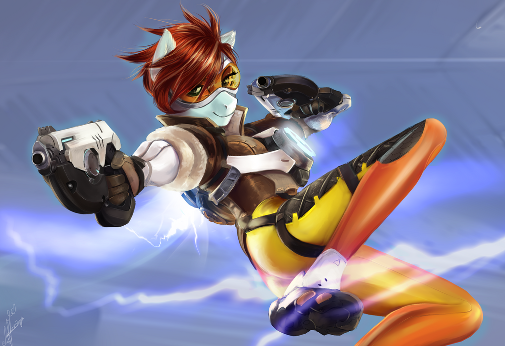 overwatch tracer r34