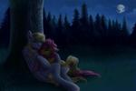 Commission Romantic night