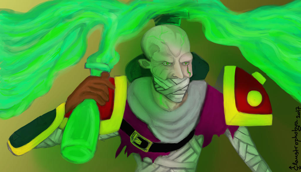 Singed [ League of Legends ] by ClauStrophobya-org