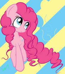 Pinkie Pie With Bigger Hair
